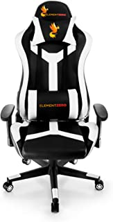 Element Zero - Comfortable Racing Style Gaming Chair & Computer Chair - Adjustable Office Managerial & Executive Chair wit...