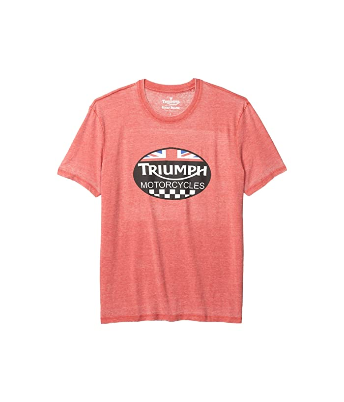 Lucky Brand  Triumph Tee (Pompeian Red) Mens Clothing