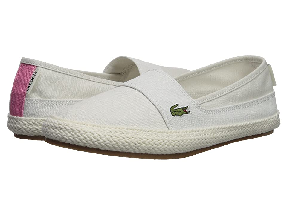 Lacoste Marice 218 1 (Off-White/Pink) Women