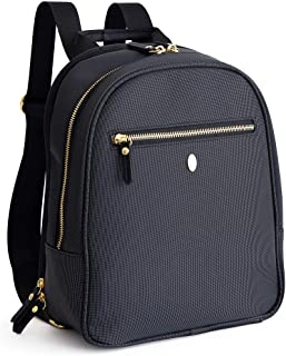 0efee1484a754 Baby Backpack Diaper Bag, Black – Stylish and Compact, fits All Essentials,  Prevents