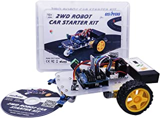 OSOYOO2輪 駆動 スマート ロボットカー スターターキット Arduino UNO R3 プロジェクト 2WD Smart Robot Car Kit オープンソース 教育ロボット 知育 日本語チュートリアル