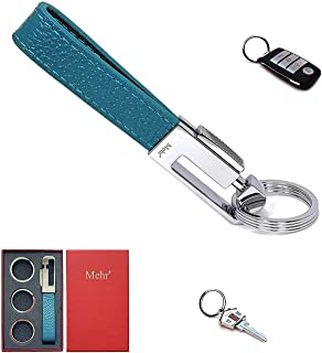 Mehr Car Keychain – Key Management with Removable Keyrings for Home & Office KC8, Blue