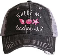 Where My Beaches At Women's Trucker Hats Caps