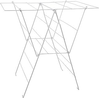 comprar comparacion Sauvic 88844 - Tendedero Sisi plastificado,Color Blanco, 98 x 62 x 94 cm