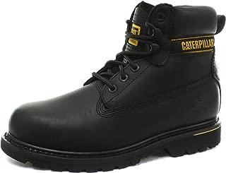 caterpillar holton boots black