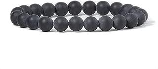Cherry Tree Collection Gemstone Beaded Stretch Bracelet 8mm Round Beads 7