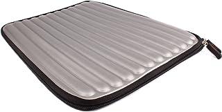 DURAGADGET Funda Gris Plata con Memory Foam para Los Portátiles ASUS X551CA - SX024H / K550CC - XX509H / S550CB - CJ116H
