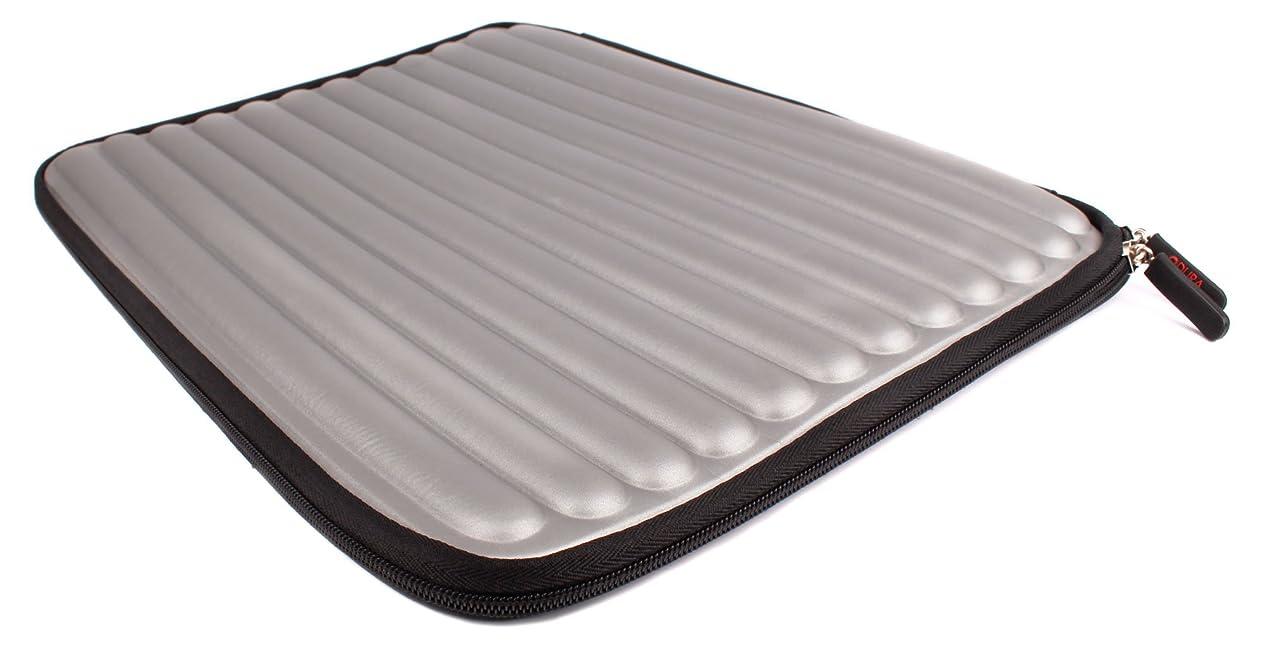 DURAGADGET Shock & Water Resistant Silver Memory Foam Laptop Case for Samsung 200B5A 15.6