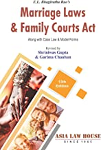 E.L. Bhagiratha Rao's Marriage Laws & Family Courts Act