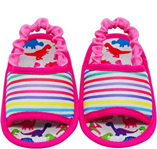 KazarMax Anti-Skid Breathable Soft & Comfortable Dino Sandal Born Baby Booties - TOOTSIES/Shoes