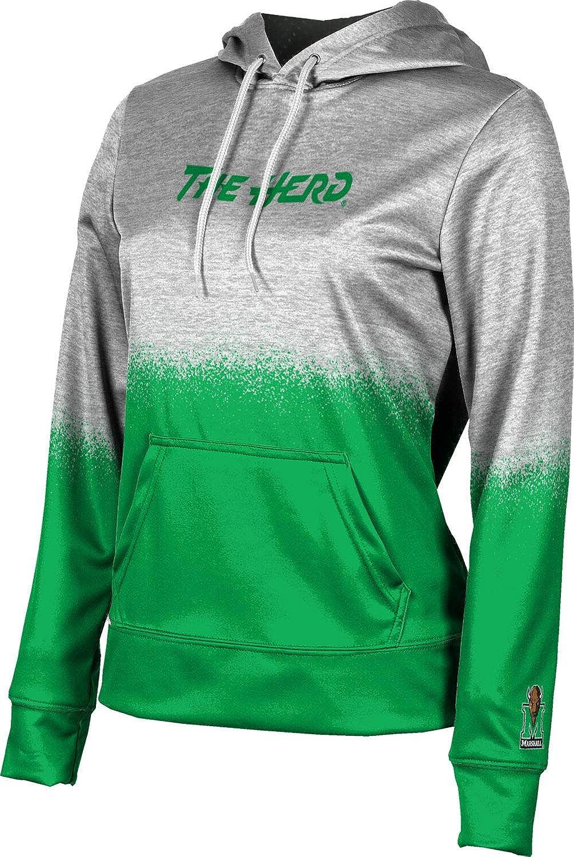 ProSphere Marshall University Girls' Pullover Hoodie, School Spirit Sweatshirt (Spray Over)
