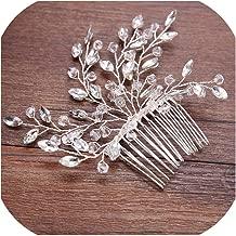 Pearl Flower Headband with Comb Bridal Hair Combs Jewellery Tiaras de Noiva Headpiece Hair Jewelry Women Wedding Accessories,style 6