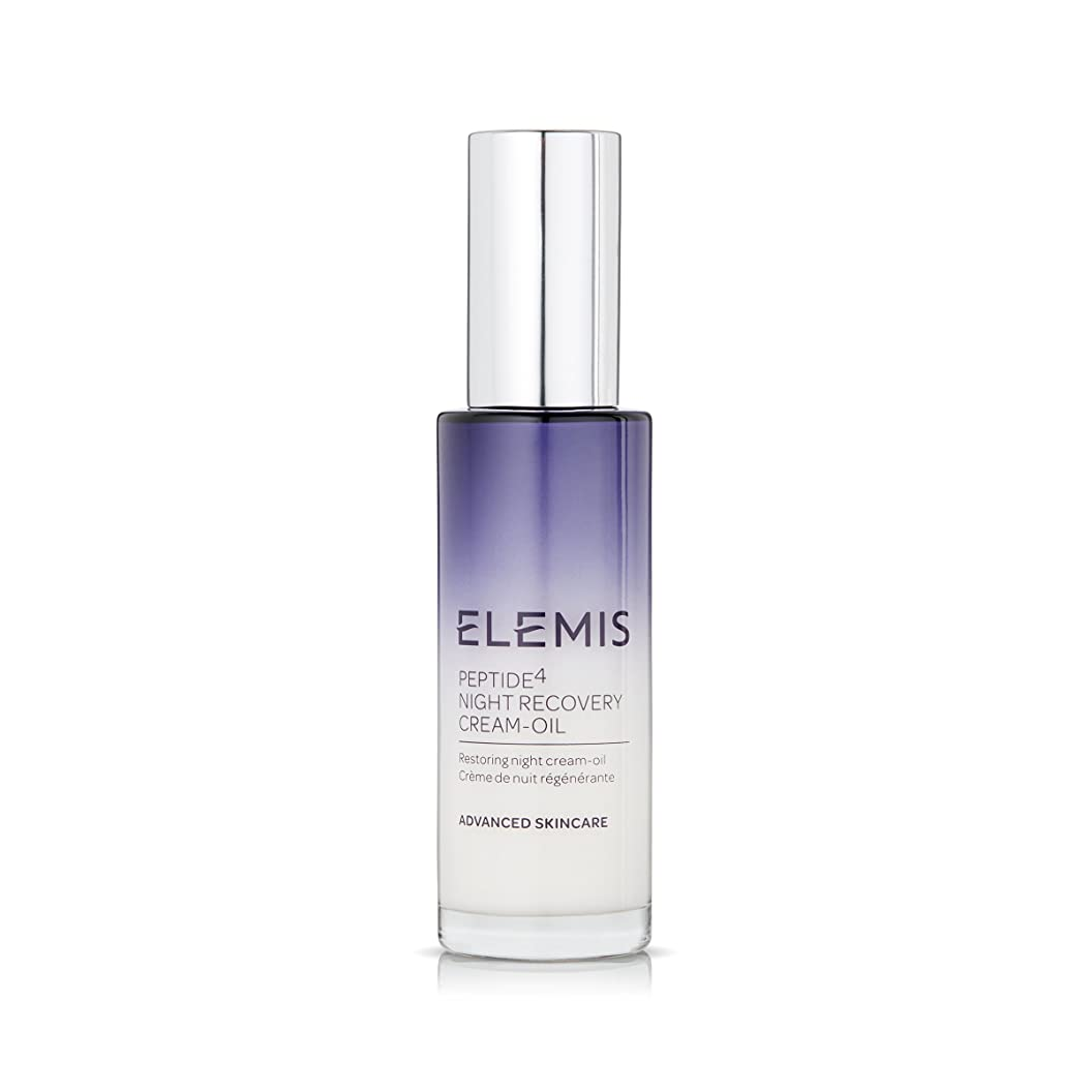 配分しかし節約エレミス Peptide4 Night Recovery Cream-Oil 30ml/1oz並行輸入品