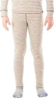 MERIWOOL Kids Unisex Thermal Bottoms Lightweight Merino Wool Base Layer