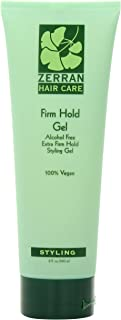 Zerran Firm Hold Hair Gel, 8 Ounce