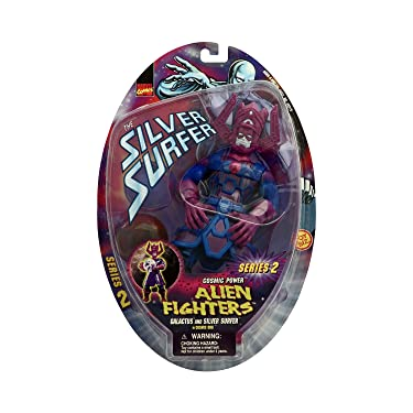 Alien Fighters Galactus and Silver Surfer in Cosmic Orb