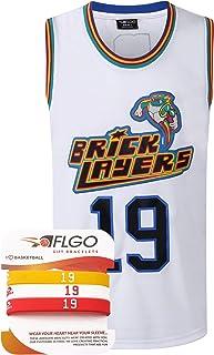 AFLGO Aaliyah #19 Brick Layers 1996 MTV Rock N Jock XS-XXXL Basketball Jersey