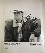 Kenny Chesney 1998 Autographed Signed Memorabilia Autograph 8 X 10 Photo JSA - Free Priority Shipping