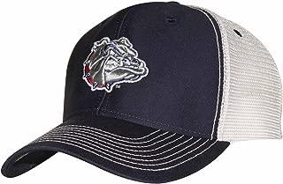 Adult-Men Sideline Cap, Navy/White, Adjustable