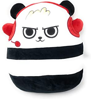 "J.F.W Kids Boys Ryans Ryan Ryan's World 12"" Squishmallow Panda (Bonus JFW Exclusive Larry Gator) ~ Super Soft Plush Toy Animal Pillow Pal Pillow Buddy Stuffed Animal Birthday"