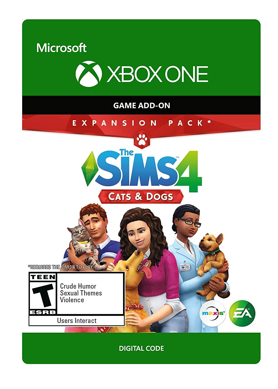 The Sims 4 Cats & Dogs - Xbox One [Digital Code]