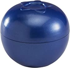"""Hutzler Snack Attack Grapes to-Go Set, Purple Blueberries to-Go 2.75"""" Round, 3.25"""" diameters Blue"""