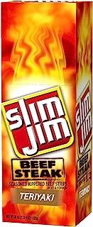 Slim Jim Beef Steak Strip, Teriyaki,