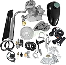 80CC Bicycle Engine Kit, Motorized Bike 2-Stroke, Petrol Gas Engine Kit, Super Fuel-efficient for 24
