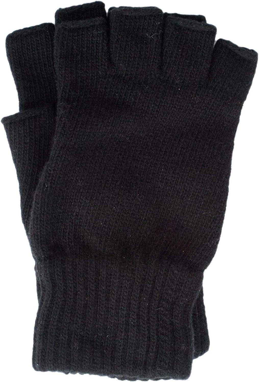 100/% lana guanti da uomo senza dita Foster-Natur
