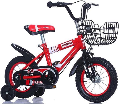 Las ventas en línea ahorran un 70%. Bicicletas Para Niños, Estructura De Acero Con Con Con Alto Contenido De Carbono Juguetes Para Bicicletas Para Bebés, Guardacadena Totalmente Cerrado, Altura Ajustable, 12 '', 14 '', 16 '', 18 '', Para 2-7 Niños  oferta de tienda
