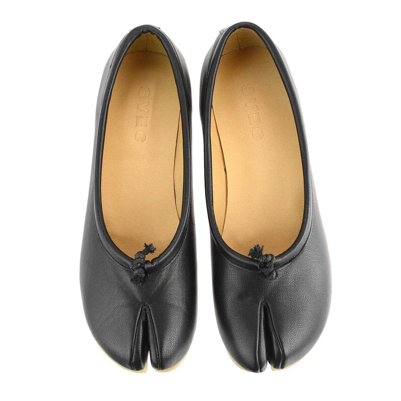 [シュベック] パンプス レディース 足袋パンプス フラットパンプス タビ 足袋 カジュアルシューズ 婦人靴 春靴 【 IPT210-1-CPZ 】