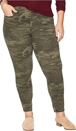 Plus Size Ami Skinny Ankle in Camo