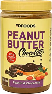 DFOODS Choco Spread Chocolate Peanut Butter (1.25kg) (1.25 Kg - 1250 Grams)