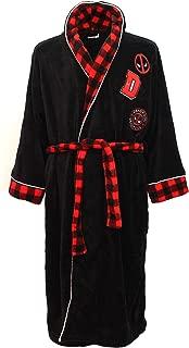 BioWorld Merchandising Marvel Comics Deadpool Plush Robe for men (Small)