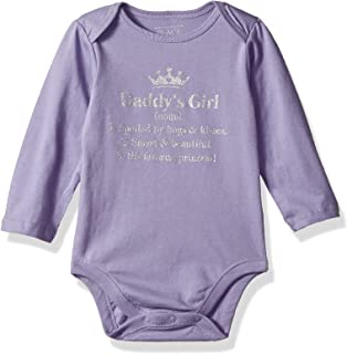 The Children's Place Baby Girls Long Sleeve Graphic Layette