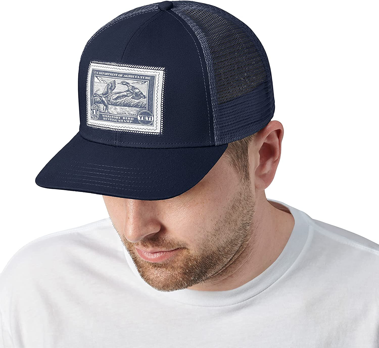 YETI Duck Stamp Trucker Hat, One Size