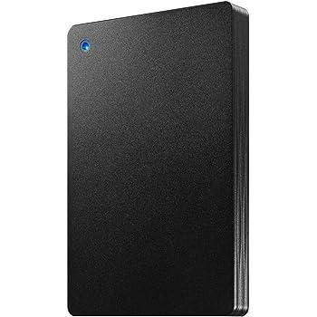 I-O DATA ポータブルHDD 1TB USB 3.1 Gen1/バスパワー/PC/Mac/薄型/静音/故障予測 日本製 土日サポート HDPH-UT1KR/E