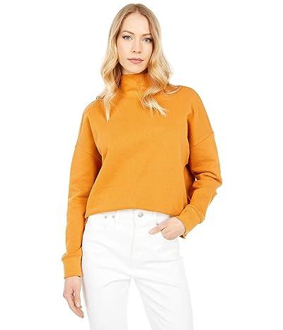 Madewell Mock Neck Sweatshirt Women