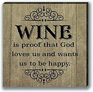 Cathedral Art Magnet-Wine is Proof, One Size, Multicolored