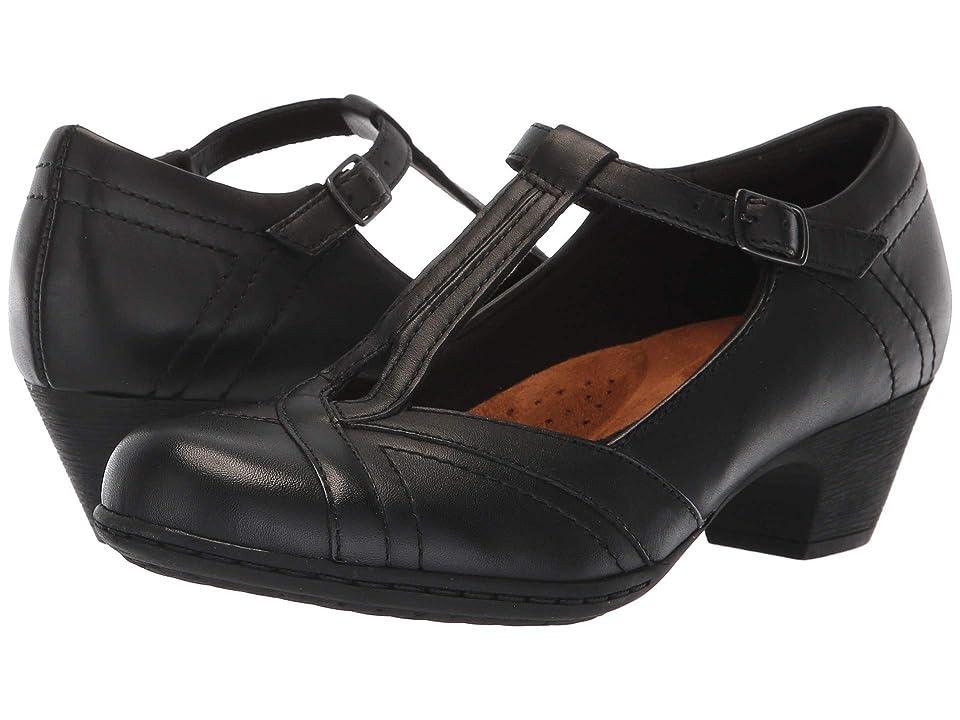 Rockport Brynn T-Strap (Black) Women