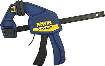 IRWIN QUICK-GRIP Bar Clamp, One-Handed, Medium-Duty, 6-Inch (1964717)