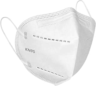 50 Pcs KN95 Personal Disposable mask Respiratory Face Protection, Healthy Protector/Filter Against Dusts, Allergens, Fog H...