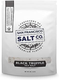 Best Italian Black Truffle Salt 5 oz. Resealable Pouch - San Francisco Salt Company Review
