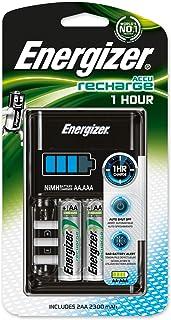 Energizer 894695 - Cargador de pilas AA+AAA, multicolor