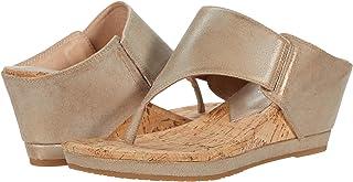 Donald J Pliner Women's MALONE-T10 Wedge Sandal, BRONZE, 6