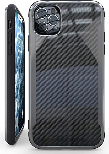 Nicexx Designed for iPhone 11 Pro Case with Carbon Fiber Pattern, 12ft. Drop Tested, Wireless Charging Compatible - B...