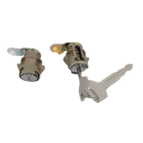 2pcs DOOR LOCK Cylinder SET With keys For 89-95 Toyota Pickup 89-98 4runner