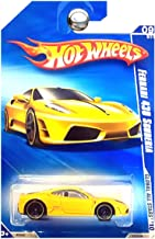 Hot Wheels 2010-127 Ferrari 430 Scuderia YELLOW Global All Stars 1:64 Scale