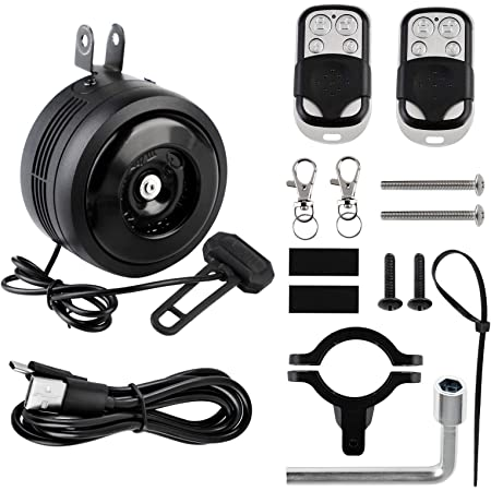 Portable Bike Bell Rubber Bicycle Bells Motorcycle Handlebar Alarm Horn BL