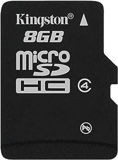 كينجستون بطاقة ذاكرة متوافقة مع متعدد - بطاقات مايكرو اس دي - 8 جيجابايت sdc4/8gbsp